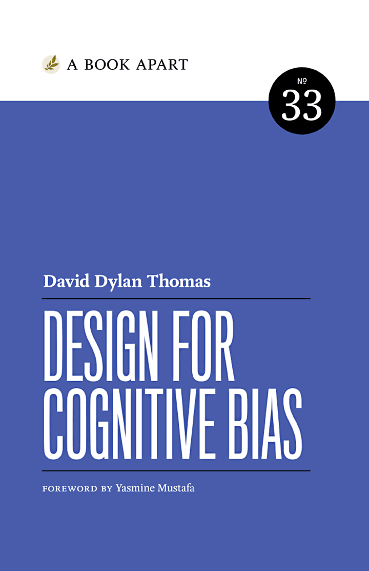 Design for Cognitive Bias book cover.