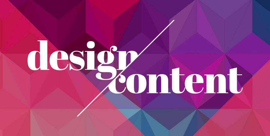 Design & Content Conference 2020 Logo.