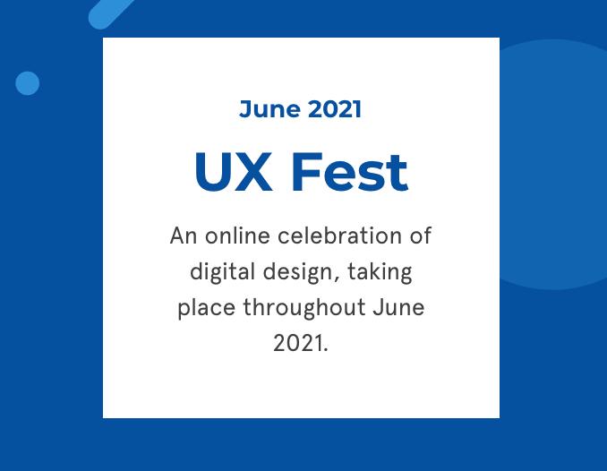 UX Fest logo