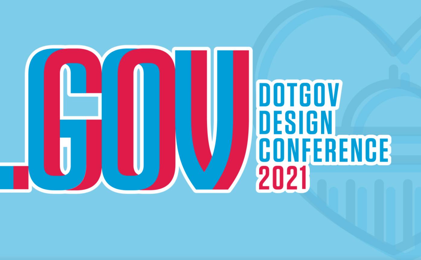 Dot Gov design conference logo